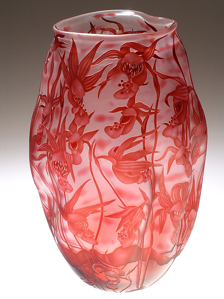 Calypso - Art Glass Vessel - by Mary Mullaney and Ralph Mossman
