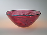 Art Glass Bowl by Tom Stoenner