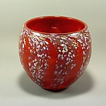 Art Glass Bowl by Mark Rosenbaum