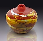Art Glass Vessel by Mark Rosenbaum