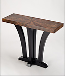 Wood Console Table by Enrico Konig