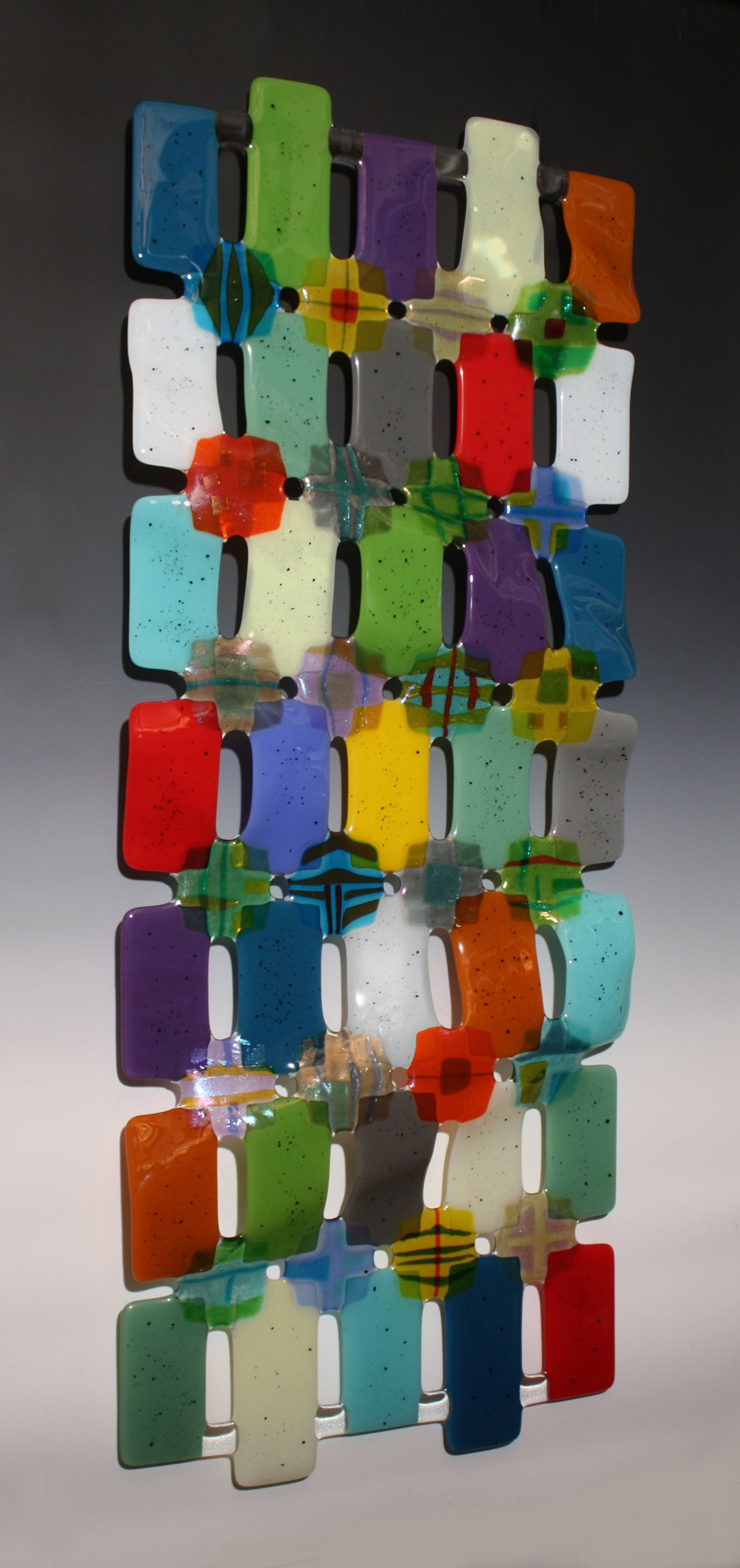 Kaleidoscope - Art Glass Wall Art - by Nina Cambron