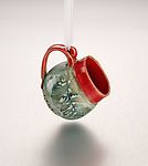 Ceramic Ornament by Suzanne Crane