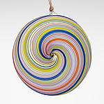 Art Glass Ornament by Fritz Lauenstein