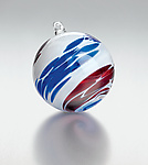 Art Glass Ornament by Michael Trimpol