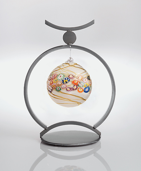 Sumo Ornament Holder - Metal Ornament Stand - by Julie Girardini and Ken Girardini