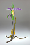 Art Glass Sculpture by Loy Allen