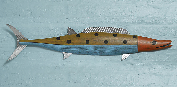 Wahoo - Wood Wall Art - by Paul Sumner