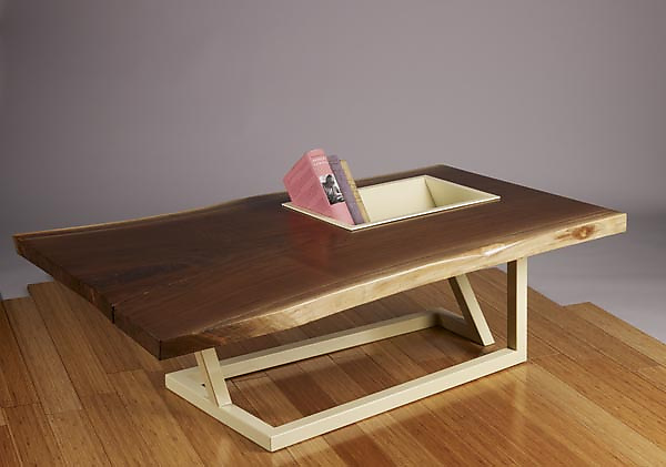 Trough Table - Wood Coffee Table - by Brad Reed Nelson