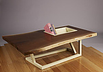 Wood Coffee Table by Brad Reed Nelson