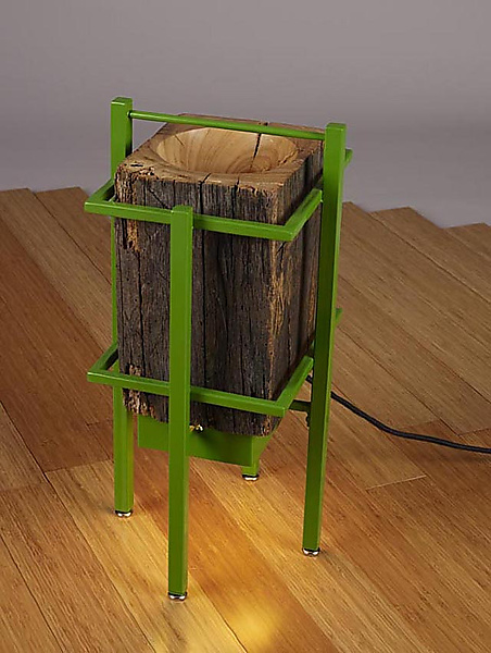 Japanese Lanterns - Wood Floor Lamp - by Brad Reed Nelson