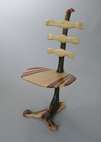 Rib Chair 2 - Wood Chair - by Charles Adams