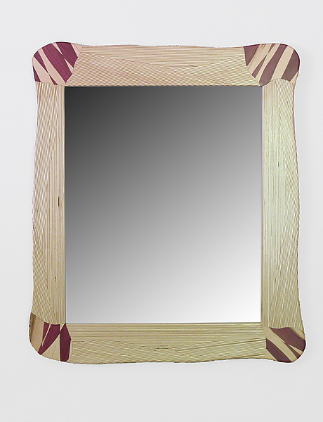Mirror 2 - Wood Mirror - by Charles Adams