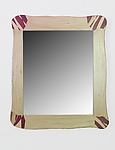 Wood Mirror by Charles Adams