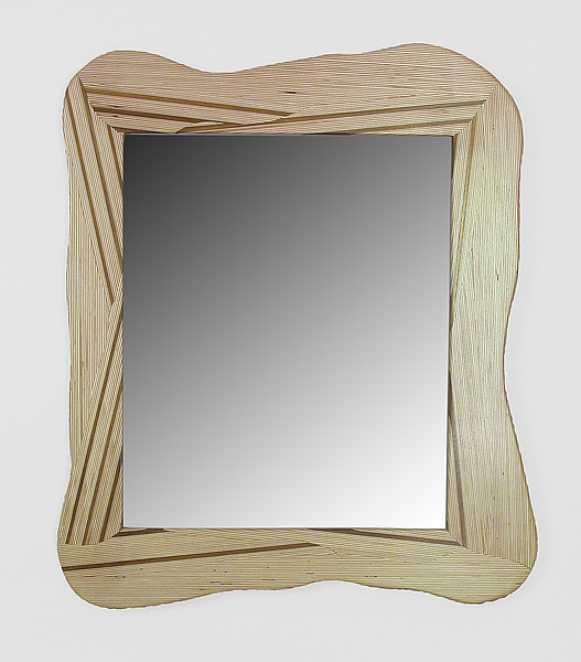 Mirror 1 - Wood Mirror - by Charles Adams
