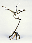 Metal Sculpture by Charles McBride White