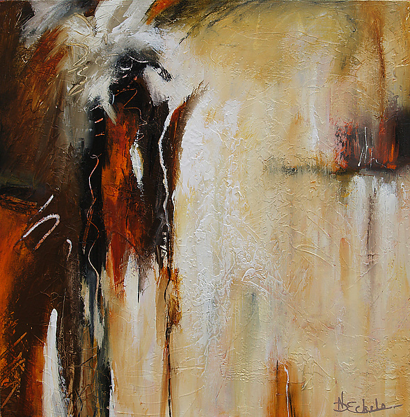 Melting Point - Acrylic Painting - by Nancy Eckels