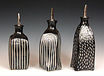 Ceramic Bottle by Larry Halvorsen