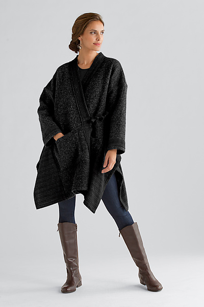 Nomad Cape Coat - Wool Coat - by Carol Lee Shanks