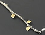 Gold & Silver Necklace by Sarah Hood