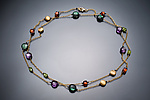 Beaded Necklace by Judy Bliss