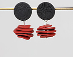 Polymer Clay Earrings by Klara Borbas