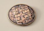 Bronze Belt Buckle by Nancy Worden