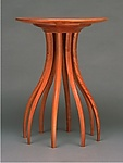 Wood Side Table by Blaise Gaston