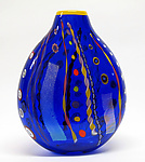 Art Glass Vase by Ingrid Hanson