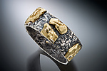 Gold & Silver Ring by Nina Mann