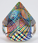 Art Glass Paperweight by Paul D. Harrie