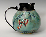 Ceramic Pitcher by Suzanne Crane