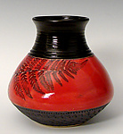 Ceramic Decanter by Suzanne Crane