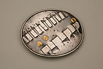 Silver Belt Buckle by Nancy Worden