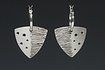 Silver Earrings by Deb Karash