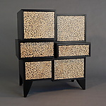 Wood Cabinet by Kevin Irvin