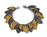 Silver & Tin Bracelet by Beth Taylor