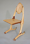 Wood Chair by Charles Adams