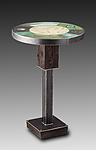 Mixed-Media Side Table by Janna Ugone