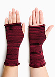 Knit Gauntlets by Nicole Alfieri