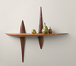 Wood Shelf by Brian Fireman