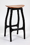 Wood Stool by Brian Fireman