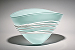 Art Glass Bowl by Ian Whitt