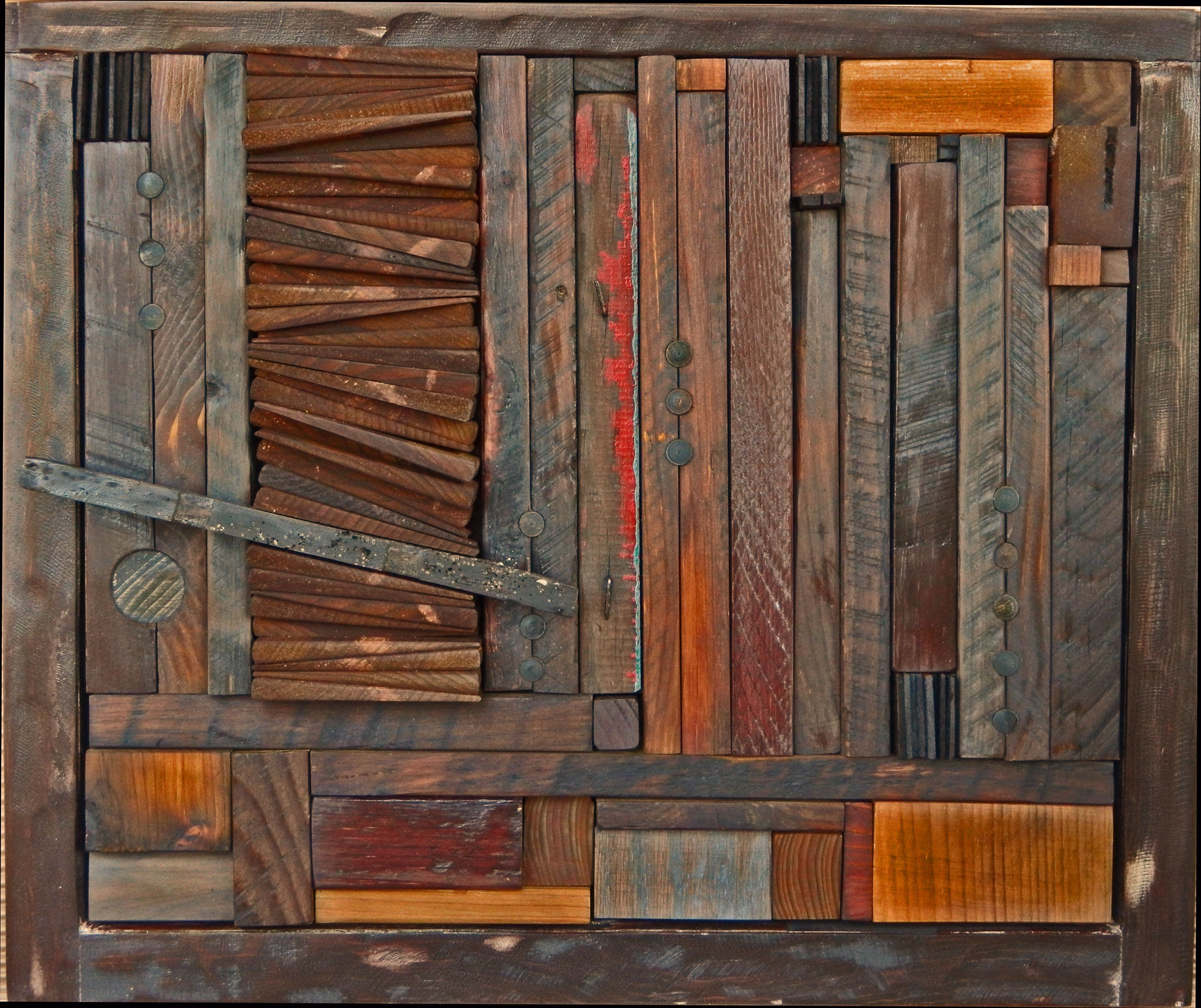 Abstract wood scrap art ideas pinterest