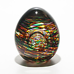 Art Glass Paperweight by Michael Trimpol