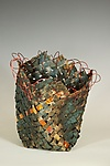 Metal Basket by Frances Solar