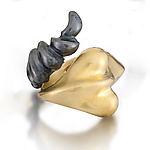Gold & Silver Ring by Shana Kroiz