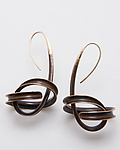 Gold & Bronze Earrings by Nancy Linkin