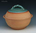 Ceramic Casserole by Ron Mello