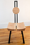 Wood Chair by Nathalie Guez